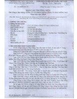 Báo cáo thường niên năm 2014 - CTCP Tổng Cty May Đồng Nai