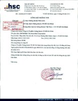 Nghị quyết Đại hội cổ đông thường niên năm 2011 - Công ty Cổ phần Chứng khoán Thành phố Hồ Chí Minh
