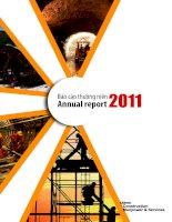 Báo cáo thường niên năm 2011 - Công ty cổ phần Xây dựng và Nhân lực Việt Nam