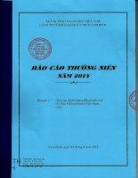 Báo cáo thường niên năm 2014 - Công ty Cổ phần Sách và Thiết bị giáo dục Nam Định