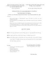 Nghị quyết đại hội cổ đông ngày 16-9-2010 - Công ty Cổ phần Sách Giáo dục tại Tp.Hà Nội