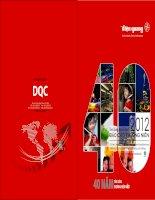 Báo cáo thường niên năm 2012 - Công ty Cổ phần Bóng đèn Điện Quang