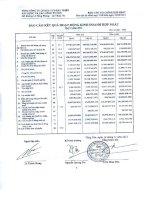 Báo cáo KQKD hợp nhất quý 3 năm 2012 - Tổng Công ty Cổ phần Đầu tư Phát triển Xây dựng