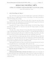 Báo cáo thường niên năm 2008 - Công ty Cổ phần Sách Giáo dục tại Tp. Đà Nẵng