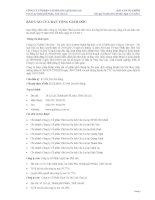 Báo cáo tài chính công ty mẹ quý 4 năm 2011 - Công ty cổ phần Gia Lai CTC