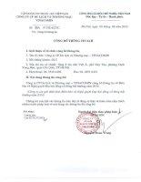 Nghị quyết Đại hội cổ đông bất thường ngày 20-14-2014 - CTCP Du lịch và Thương mại – Vinacomin