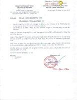 Báo cáo tài chính công ty mẹ quý 2 năm 2014 (đã soát xét) - Công ty cổ phần Xây dựng và Nhân lực Việt Nam