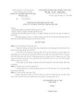 Nghị quyết Hội đồng Quản trị ngày 24-12-2010 - Công ty Cổ phần Thương mại Bia Hà Nội