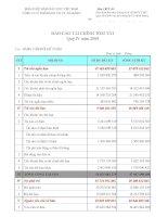 Báo cáo tài chính quý 4 năm 2009 - Công ty Cổ phần Sách Giáo dục tại Tp. Đà Nẵng