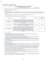 Báo cáo tài chính công ty mẹ quý 1 năm 2012 - Công ty cổ phần Kỹ thuật điện Toàn Cầu