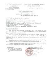 Nghị quyết Hội đồng Quản trị - Ngân hàng Thương mại Cổ phần Công thương Việt Nam