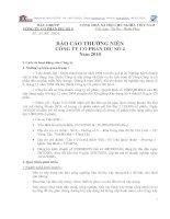 Báo cáo thường niên năm 2010 - Công ty Cổ phần DIC số 4