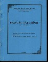Báo cáo tài chính công ty mẹ quý 3 năm 2012 - Công ty Cổ phần Đầu tư Phát triển Cường Thuận IDICO