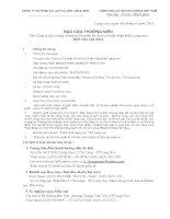 Báo cáo thường niên năm 2012 - Công ty Cổ phần Du lịch và Xuất nhập khẩu Lạng Sơn