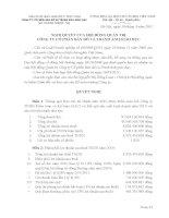 Nghị quyết Hội đồng Quản trị ngày 15-03-2011 - Công ty Cổ phần Bản đồ và Tranh ảnh Giáo dục