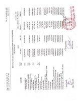 Báo cáo KQKD hợp nhất quý 2 năm 2012 - Công ty Cổ phần Tập đoàn Hà Đô