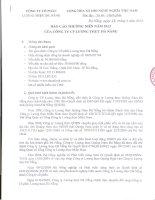 Báo cáo thường niên năm 2013 - Công ty Cổ phần Lương thực Đà Nẵng