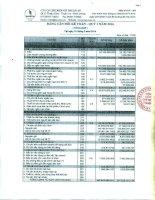 Báo cáo tài chính quý 1 năm 2016 - Công ty Cổ phần Chế biến Gỗ Thuận An