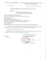 Nghị quyết Hội đồng Quản trị - Công ty Cổ phần Du lịch Đồng Nai