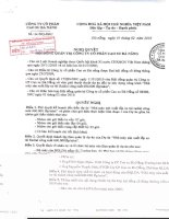 Nghị quyết Hội đồng Quản trị ngày 1-2-2010 - Công ty Cổ phần Cao su Đà Nẵng