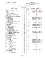 Báo cáo tài chính quý 4 năm 2009 - Công ty Cổ phần Xây dựng và Đầu tư 492