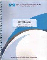 Báo cáo tài chính quý 2 năm 2013 (đã soát xét) -  Công ty Cổ phần Thủy điện Gia Lai