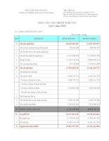 Báo cáo tài chính quý 1 năm 2009 - Công ty Cổ phần Sách Giáo dục tại Tp. Đà Nẵng