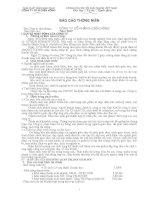 Báo cáo thường niên năm 2007 - Công ty cổ phần In Diên Hồng