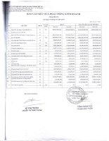 Báo cáo KQKD hợp nhất quý 3 năm 2010 - Công ty Cổ phần Xây dựng và Kinh doanh Vật tư