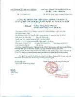 Nghị quyết Hội đồng Quản trị - Công ty Cổ phần Sản xuất Thương mại May Sài Gòn