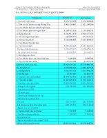 Báo cáo tài chính quý 3 năm 2009 - Công ty Cổ phần Sách và Thiết bị giáo dục Nam Định