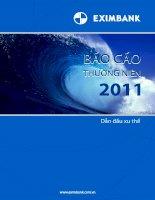 Báo cáo thường niên năm 2011 - Ngân hàng Thương mại Cổ phần Xuất nhập khẩu Việt Nam