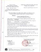 Nghị quyết Hội đồng Quản trị - Tổng Công ty Cổ phần Đầu tư Phát triển Xây dựng