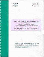 Báo cáo tài chính hợp nhất quý 2 năm 2014 (đã soát xét) - Công ty Cổ phần Xây dựng 47