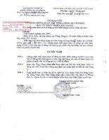 Nghị quyết Hội đồng Quản trị ngày 18-1-2011 - Tổng Công ty Cổ phần Đầu tư Phát triển Xây dựng