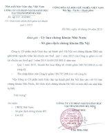 Báo cáo tài chính quý 1 năm 2015 - Công ty Cổ phần Sách Giáo dục tại Tp.Hà Nội