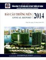 Báo cáo thường niên năm 2014 - Tổng Công ty Cổ phần Đầu tư Phát triển Xây dựng