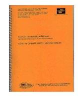 Báo cáo tài chính năm 2009 (đã kiểm toán) - Công ty Cổ phần Chứng Khoán Chợ Lớn