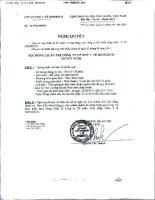 Nghị quyết Hội đồng Quản trị ngày 03-08-2011 - Công ty Cổ phần Xuất nhập khẩu Y tế Domesco