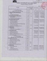 Báo cáo tài chính hợp nhất quý 2 năm 2013 - Công ty Cổ phần Đầu tư và Thương mại DIC