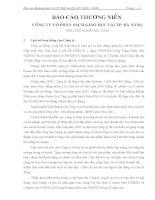Báo cáo thường niên năm 2007 - Công ty Cổ phần Sách Giáo dục tại Tp. Đà Nẵng