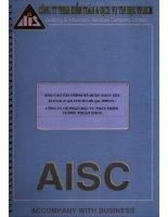 Báo cáo tài chính công ty mẹ quý 2 năm 2011 (đã soát xét) - Công ty Cổ phần Đầu tư Phát triển Cường Thuận IDICO