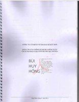 Báo cáo tài chính quý 3 năm 2014 (đã kiểm toán) - Công ty cổ phần VICEM Bao bì Bút Sơn