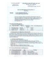 Báo cáo tình hình quản trị công ty - Công ty Cổ phần Chứng Khoán Chợ Lớn