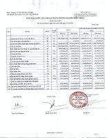 Báo cáo tài chính hợp nhất quý 4 năm 2014 - Công ty Cổ phần Sản xuất Thương mại May Sài Gòn