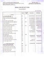Báo cáo tài chính quý 3 năm 2010 - Công ty Cổ phần Chứng khoán Âu Việt