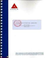 Báo cáo tài chính quý 2 năm 2014 (đã soát xét) - Công ty Cổ phần DIC - Đồng Tiến