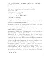 Báo cáo thường niên năm 2010 - Công ty Cổ phần Sách và Thiết bị giáo dục Nam Định