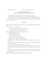 Nghị quyết Hội đồng Quản trị ngày 07-03-2011 - Công ty Cổ phần Điện nước Lắp máy Hải Phòng
