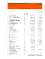Báo cáo tài chính hợp nhất quý 4 năm 2011 - Công ty cổ phần Xây dựng và Nhân lực Việt Nam